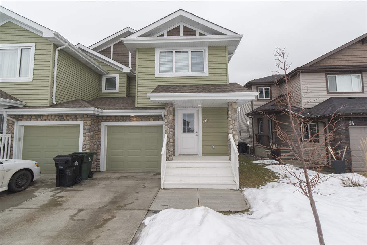 Main Photo: 26 AUREA Bay: Spruce Grove House Half Duplex for sale : MLS®# E4154314