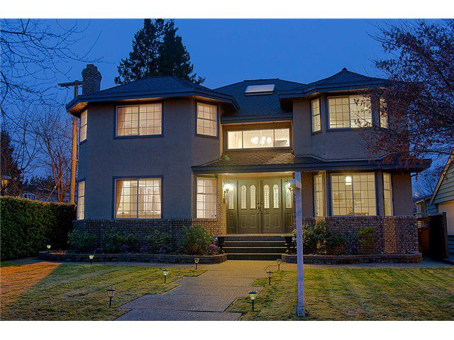 """Main Photo: 4377 VALLEY DR in Vancouver: Quilchena House for sale in """"Quilchena"""" (Vancouver West)  : MLS®# V1042736"""