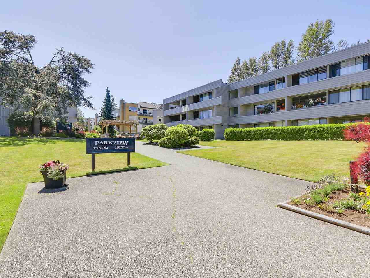 """Main Photo: 107 15272 19 Avenue in Surrey: King George Corridor Condo for sale in """"PARKVIEW"""" (South Surrey White Rock)  : MLS®# R2183797"""