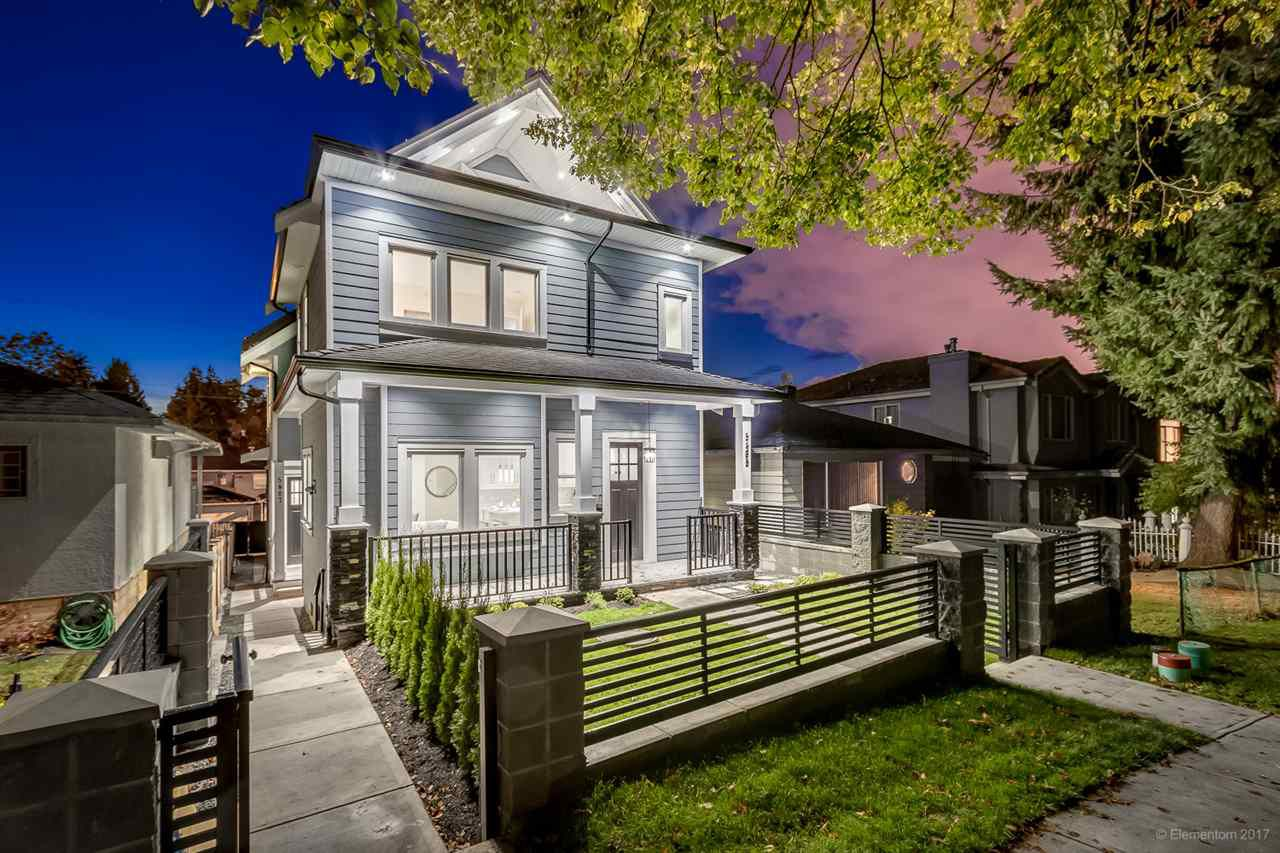 Main Photo: 5487 DUNDEE Street in Vancouver: Collingwood VE House 1/2 Duplex for sale (Vancouver East)  : MLS®# R2229951