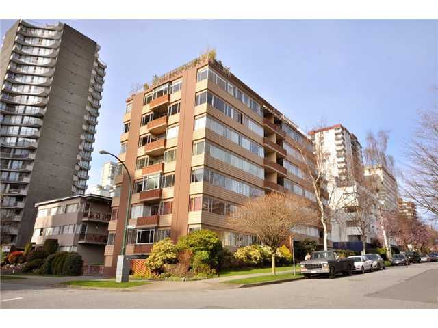 Main Photo: # 102 1315 CARDERO ST in Vancouver: West End VW Condo for sale (Vancouver West)  : MLS®# V876407
