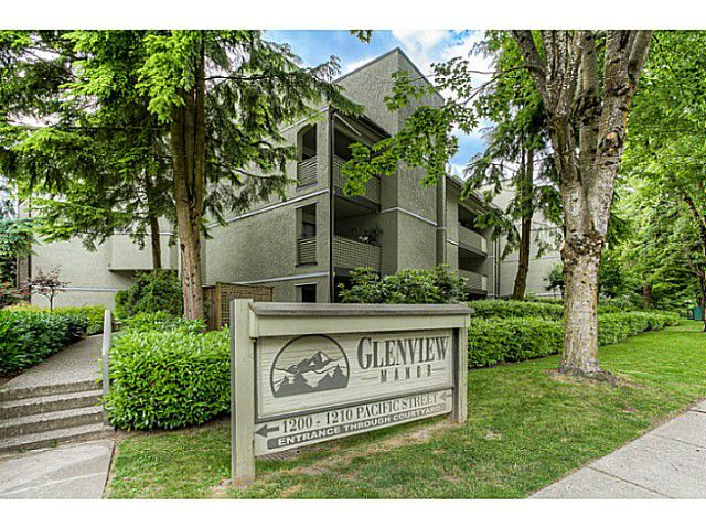 "Main Photo: 217 1200 PACIFIC Street in Coquitlam: North Coquitlam Condo for sale in ""GLENVIEW MANOR"" : MLS®# V1070671"