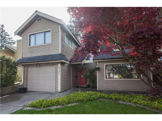 "Main Photo: 6751 BAKER Road in Delta: Sunshine Hills Woods House for sale in ""Sunshine Hills"" (N. Delta)  : MLS®# F1439070"