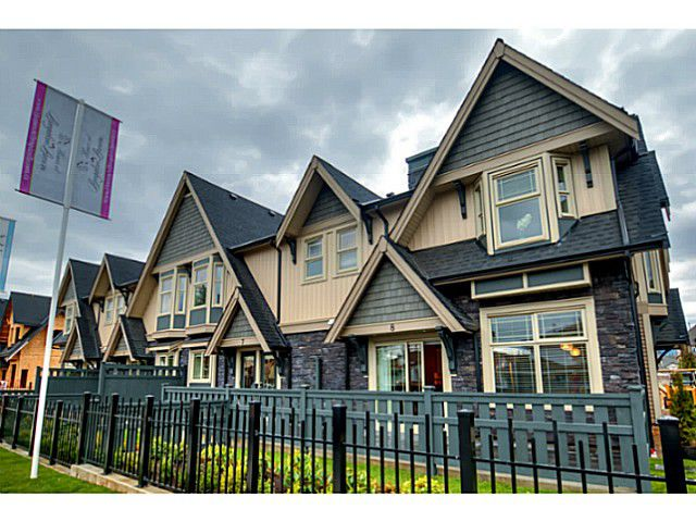 """Main Photo: 25 19095 MITCHELL Road in Pitt Meadows: Central Meadows Townhouse for sale in """"BROGDEN BROWN"""" : MLS®# V1122105"""