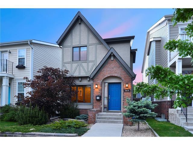Main Photo: 5624 HENWOOD Street SW in Calgary: Garrison Green House for sale : MLS®# C4073860