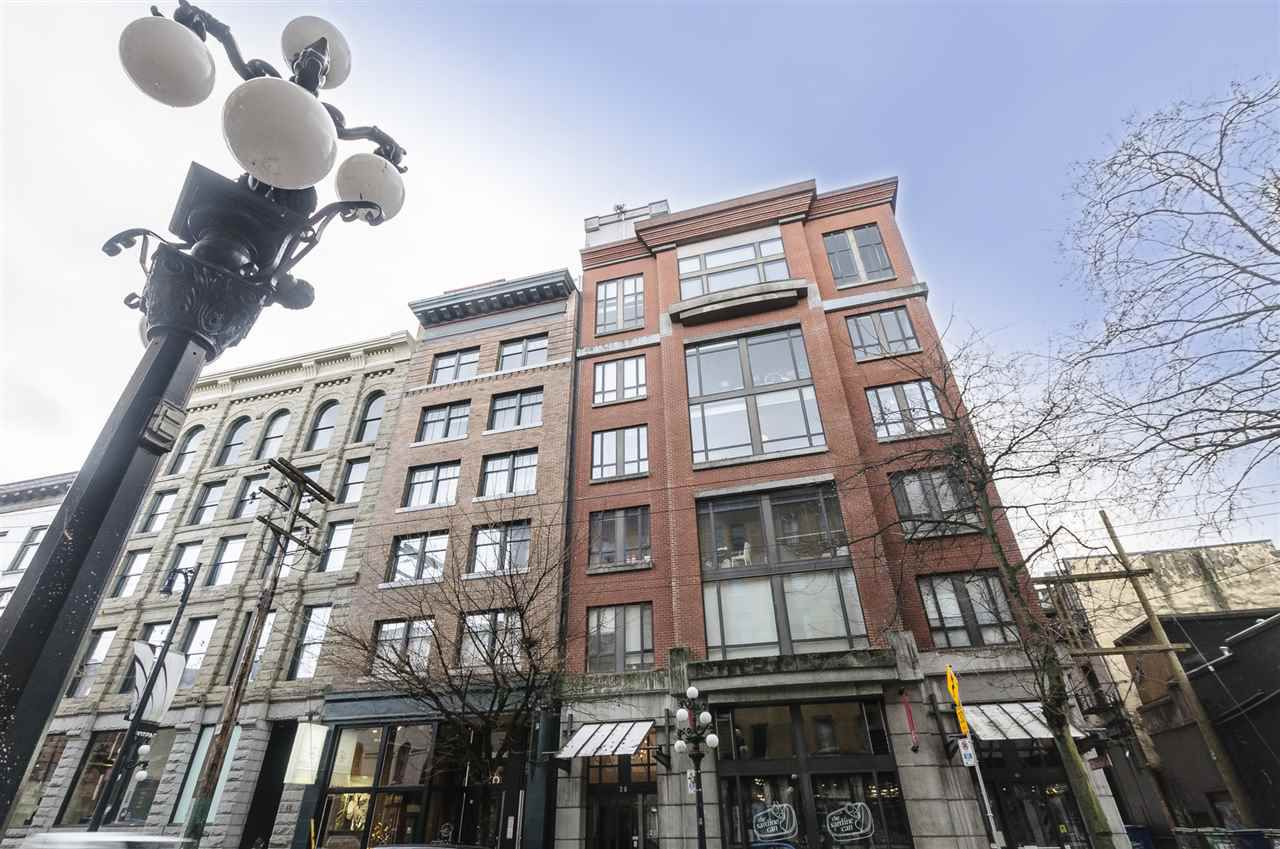 "Main Photo: 401 28 POWELL Street in Vancouver: Downtown VE Condo for sale in ""POWELL LANE"" (Vancouver East)  : MLS®# R2226762"