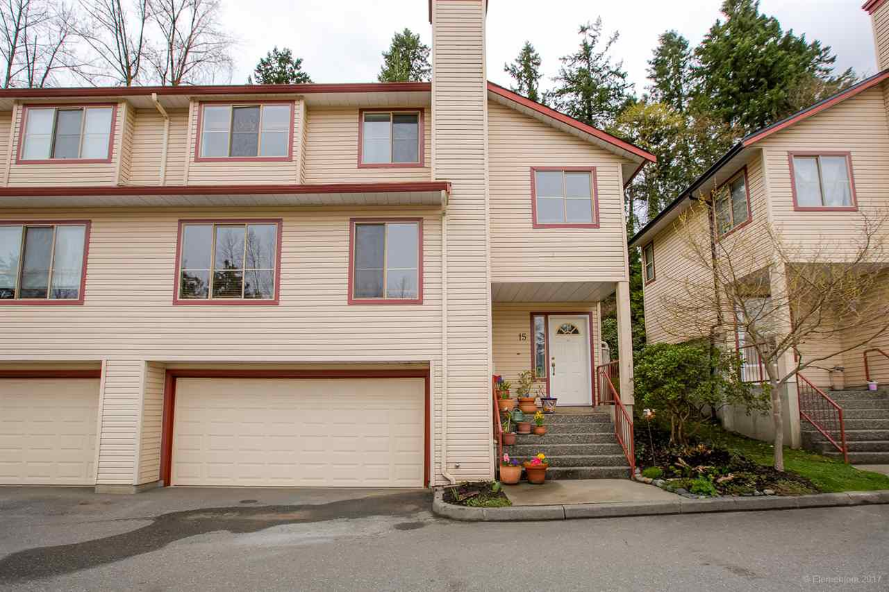 "Main Photo: 15 21960 RIVER Road in Maple Ridge: West Central Townhouse for sale in ""FOXBOROUGH HILLS"" : MLS®# R2255679"