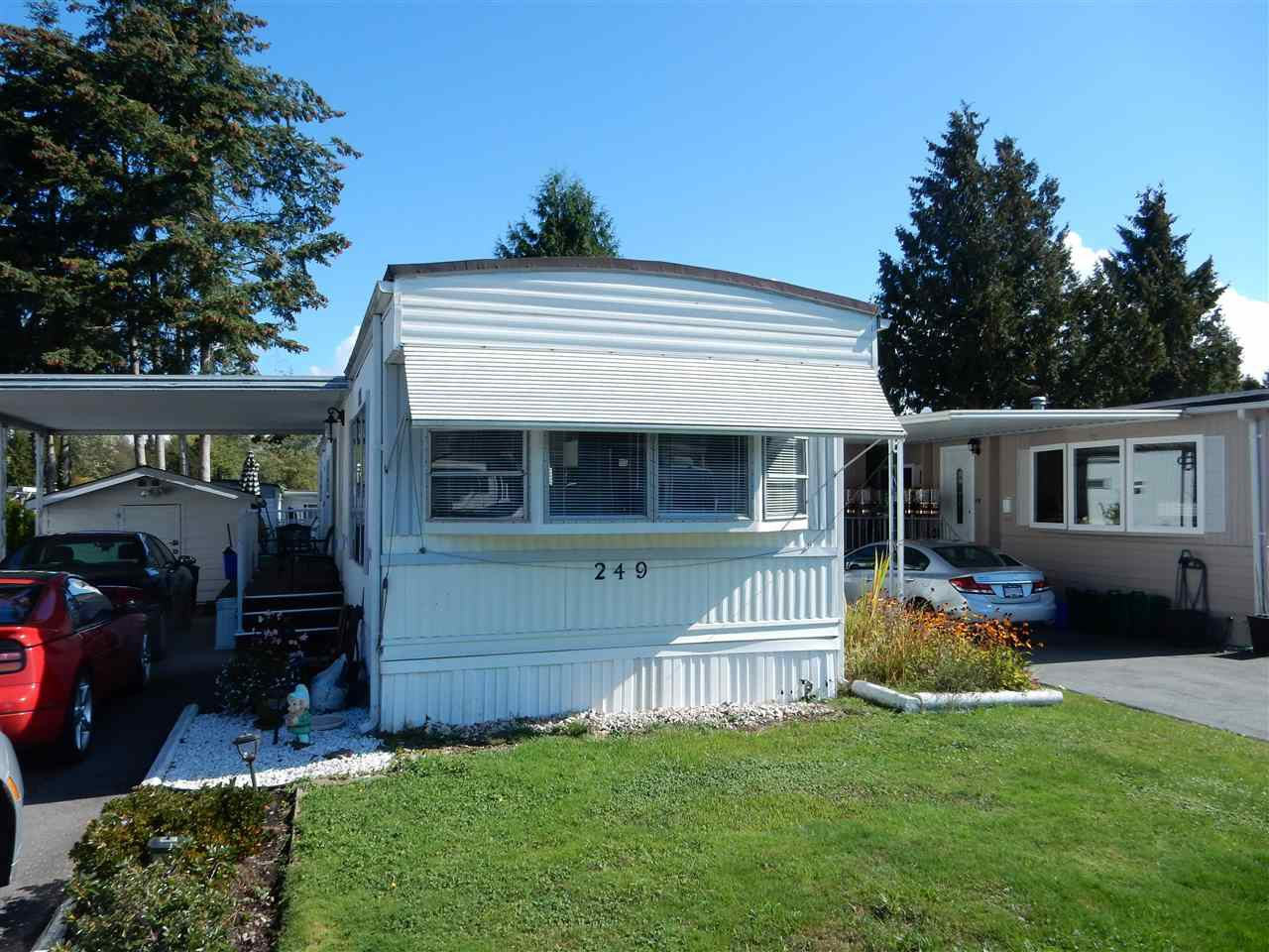 """Main Photo: 249 1840 160 Street in Surrey: King George Corridor Manufactured Home for sale in """"Breakaway Bays"""" (South Surrey White Rock)  : MLS®# R2110222"""