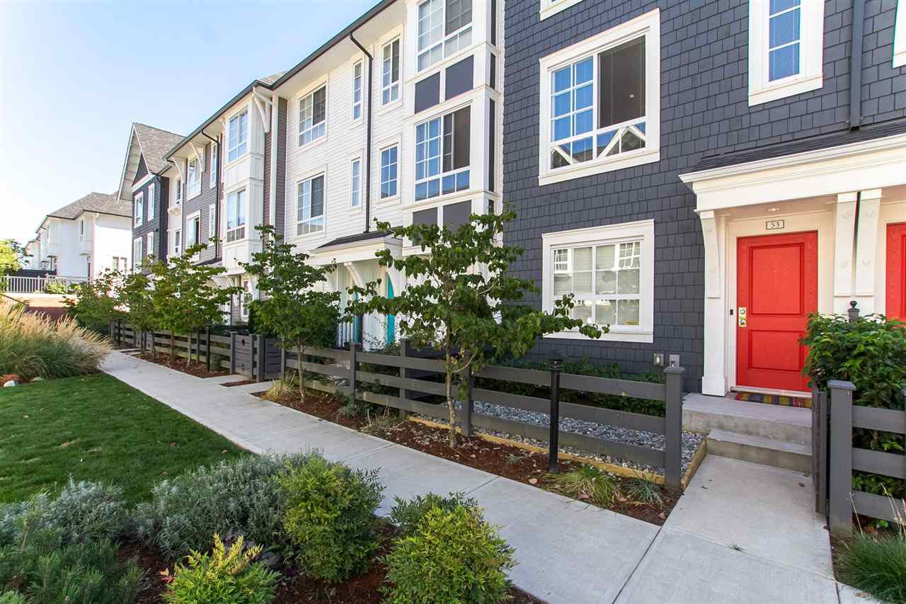 "Main Photo: 53 8438 207A Street in Langley: Willoughby Heights Townhouse for sale in ""YORK By Mosaic"" : MLS®# R2201885"