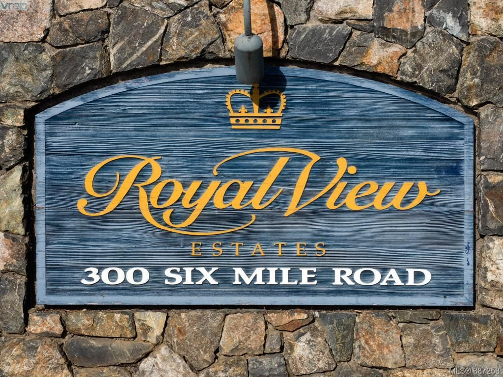 Main Photo: 27 300 Six Mile Road in VICTORIA: VR Six Mile Townhouse for sale (View Royal)  : MLS®# 387258