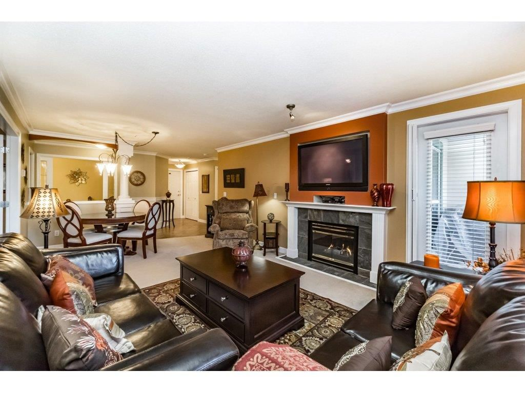 "Main Photo: 308 13860 70 Avenue in Surrey: East Newton Condo for sale in ""Chelsea Garden"" : MLS®# R2249748"