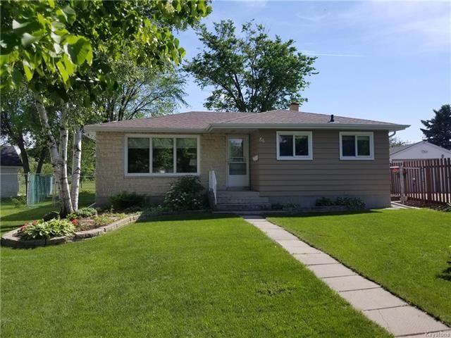 Main Photo: 86 Byars Place in Winnipeg: East Kildonan Residential for sale (3B)  : MLS®# 1815167