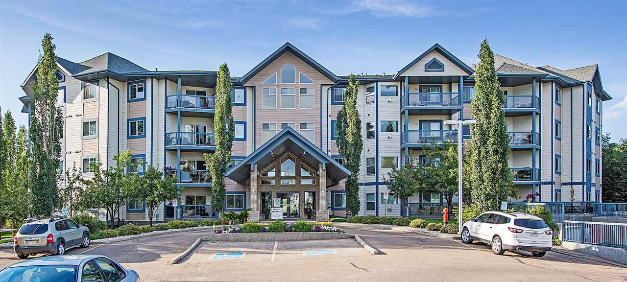 Main Photo: 317 100 FOXHAVEN Drive: Sherwood Park Condo for sale : MLS®# E4160543