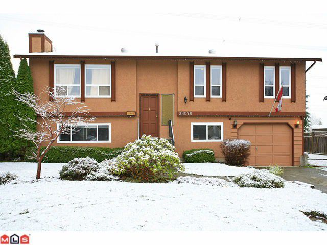 Main Photo: 35076 MORGAN Way in Abbotsford: Abbotsford East House for sale : MLS®# F1125332
