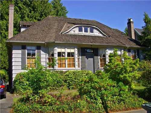 Main Photo: 5762 WALLACE Street in Vancouver West: Southlands Home for sale ()  : MLS®# V898699