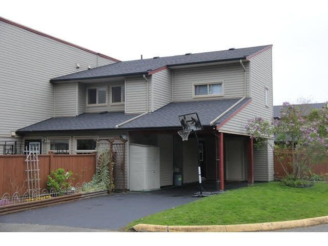 "Main Photo: 133 27456 32 Avenue in Langley: Aldergrove Langley Townhouse for sale in ""Cedar Park"" : MLS®# F1437830"