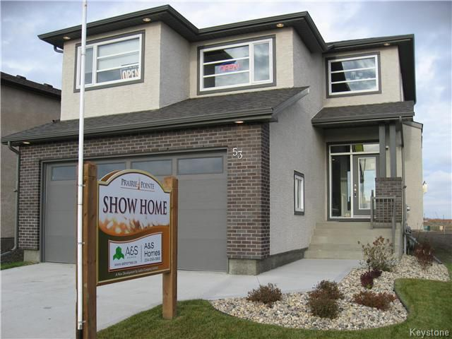Main Photo: 53 EAGLEWOOD Drive in Winnipeg: South Pointe Residential for sale (1R)  : MLS®# 1702525