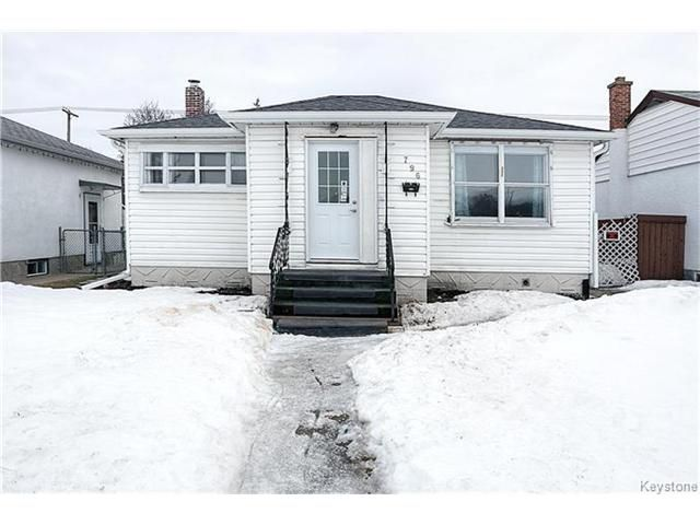 Main Photo: 796 Polson Avenue in Winnipeg: Sinclair Park Residential for sale (4C)  : MLS®# 1703835