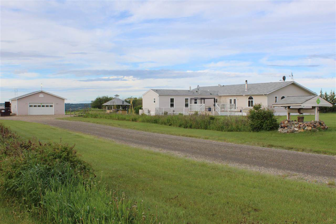 Main Photo: 4855 CECIL LAKE Road in Fort St. John: Fort St. John - Rural E 100th Manufactured Home for sale (Fort St. John (Zone 60))  : MLS®# R2196614