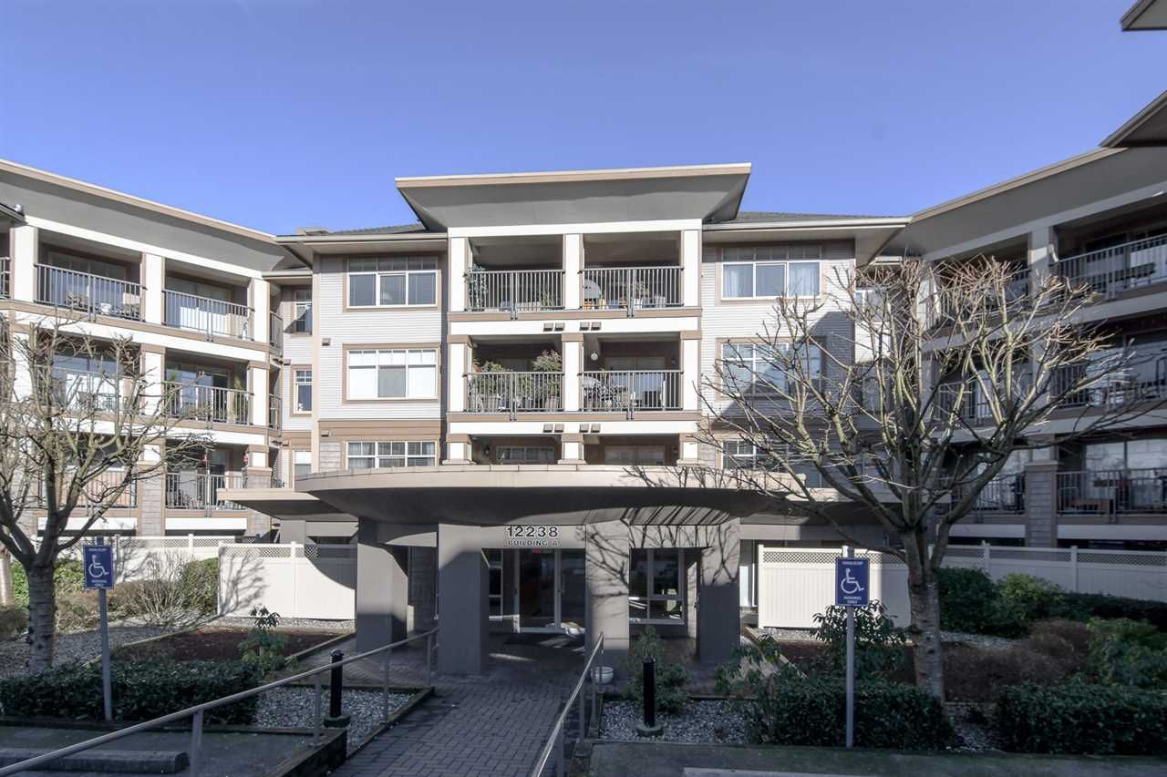 "Main Photo: 124 12238 224 Street in Maple Ridge: East Central Condo for sale in ""URBANO"" : MLS®# R2238823"