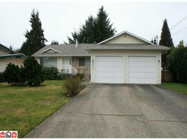 Main Photo: 2073 WILEROSE STREET in : Central Abbotsford House for sale (Abbotsford)  : MLS®# F1104138