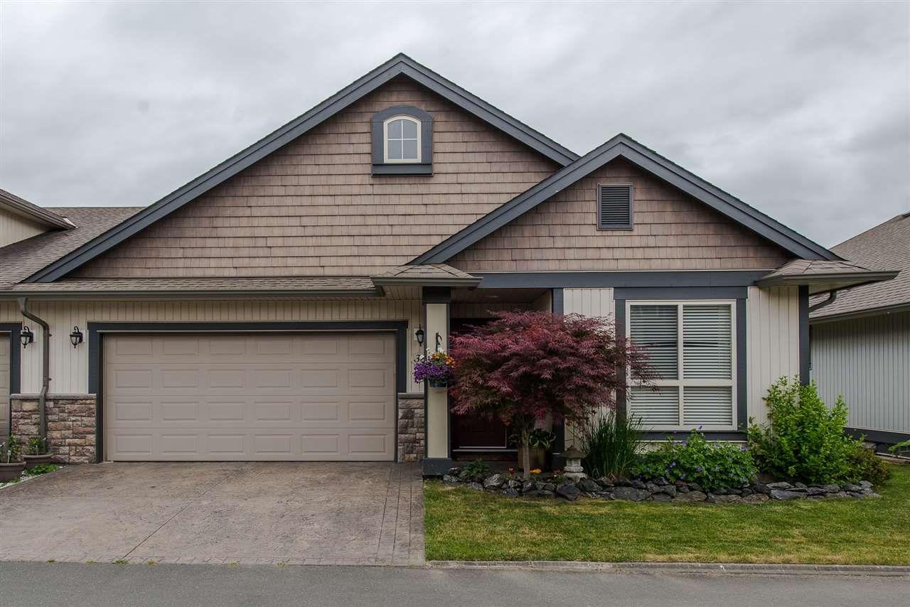 "Main Photo: 38 44465 MCLAREN Drive in Sardis: Vedder S Watson-Promontory House 1/2 Duplex for sale in ""Haven in Websters Landing"" : MLS®# R2313859"