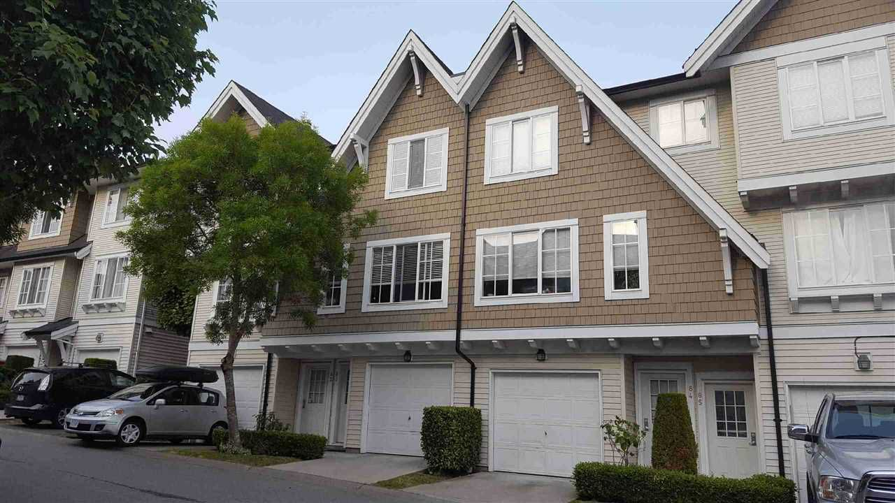 "Main Photo: 83 20560 66 Avenue in Langley: Willoughby Heights Townhouse for sale in ""AMBERLEIGH"" : MLS®# R2326523"