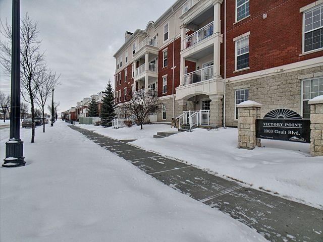 Main Photo: 115 1003 Gault Boulevard in Edmonton: Zone 27 Condo for sale : MLS®# E4141075