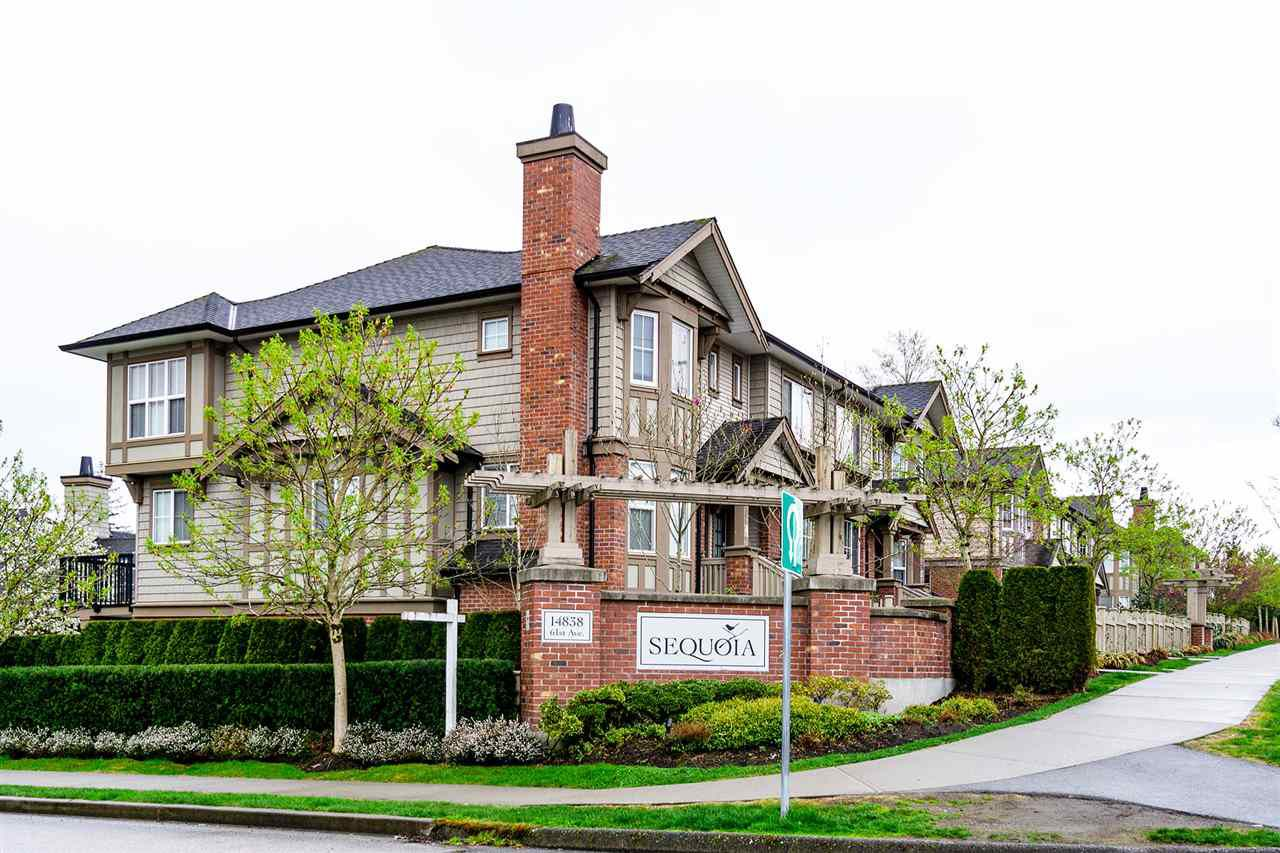 Main Photo: 22 14838 61 Avenue in Surrey: Sullivan Station Townhouse for sale : MLS®# R2352121