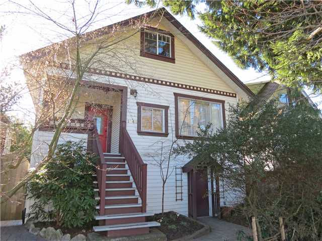 Main Photo: 1844 E 15TH Avenue in Vancouver: Grandview VE House for sale (Vancouver East)  : MLS®# V1046685