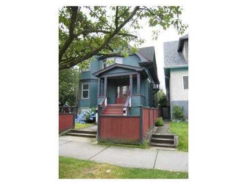 Main Photo: 1876 CHARLES Street in Vancouver East: Grandview VE Home for sale ()  : MLS®# V977029