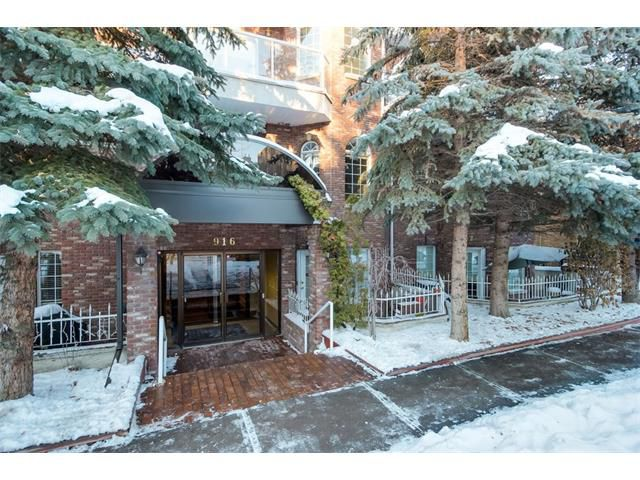Main Photo: 303 916 19 Avenue SW in Calgary: Lower Mount Royal Condo for sale : MLS®# C4001758