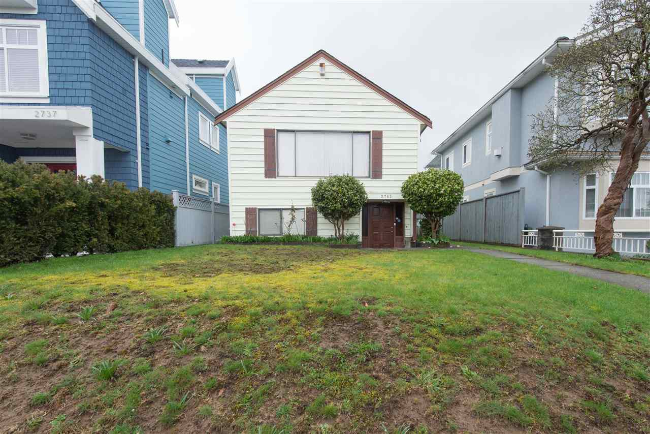 Main Photo: 2743 DUKE Street in Vancouver: Collingwood VE House for sale (Vancouver East)  : MLS®# R2154313