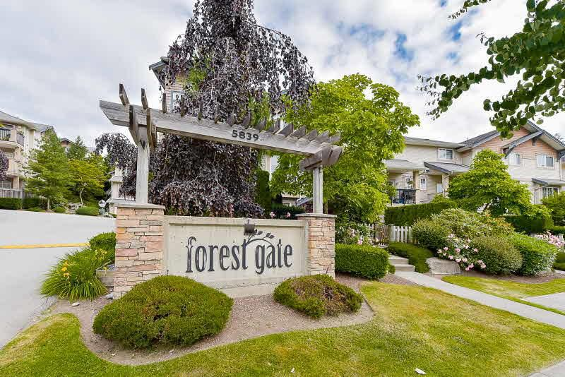 "Main Photo: 67 5839 PANORAMA Drive in Surrey: Sullivan Station Townhouse for sale in ""Forest Gate"" : MLS®# R2181908"