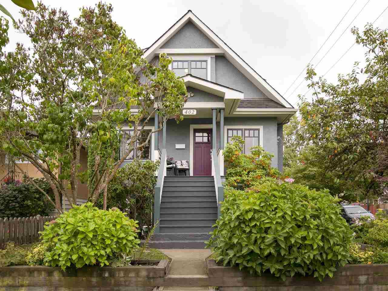 """Main Photo: 402 E 30TH Avenue in Vancouver: Fraser VE House for sale in """"Main Street"""" (Vancouver East)  : MLS®# R2212798"""
