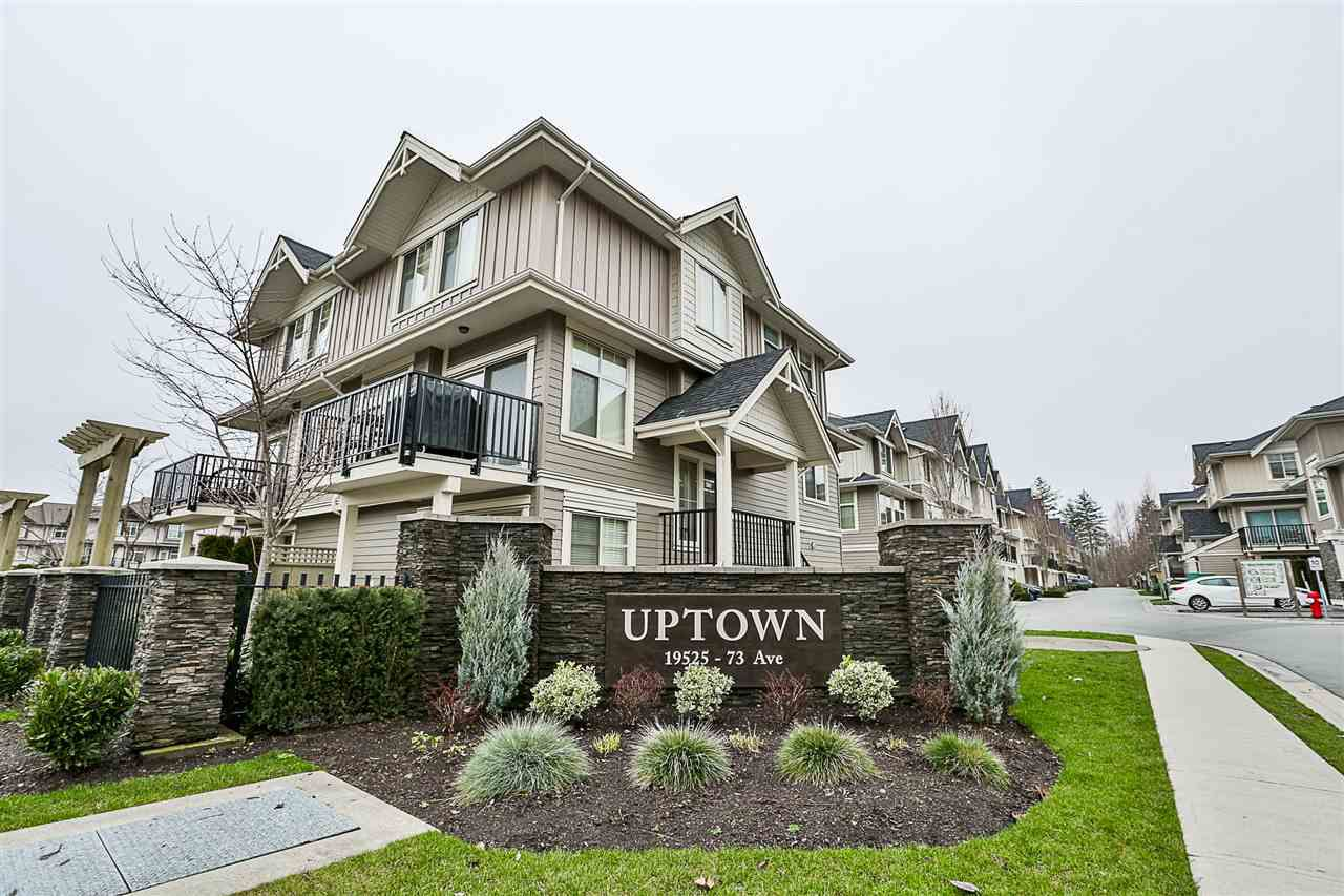 """Main Photo: 75 19525 73 Avenue in Surrey: Clayton Townhouse for sale in """"UPTOWN CLAYTON"""" (Cloverdale)  : MLS®# R2237893"""