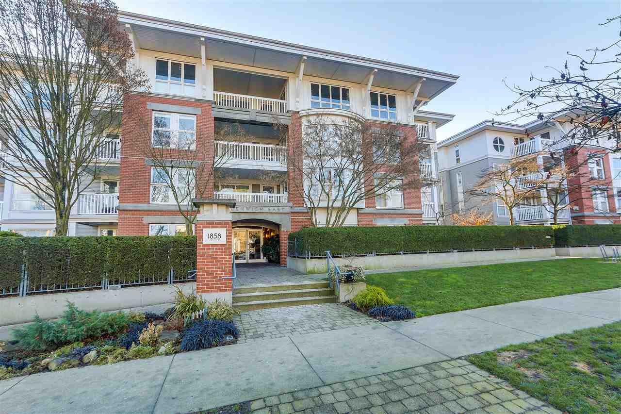 "Main Photo: 307 1858 W 5TH Avenue in Vancouver: Kitsilano Condo for sale in ""Greenwich"" (Vancouver West)  : MLS®# R2326552"
