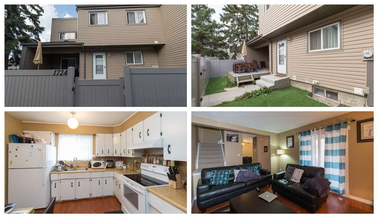 Main Photo: 1724 LAKEWOOD Road in Edmonton: Zone 29 Townhouse for sale : MLS®# E4151022