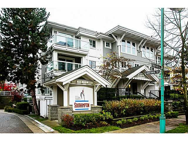 """Main Photo: 111 3038 E KENT Avenue in Vancouver: Fraserview VE Condo for sale in """"SOUTH HAMPTON"""" (Vancouver East)  : MLS®# V1035735"""