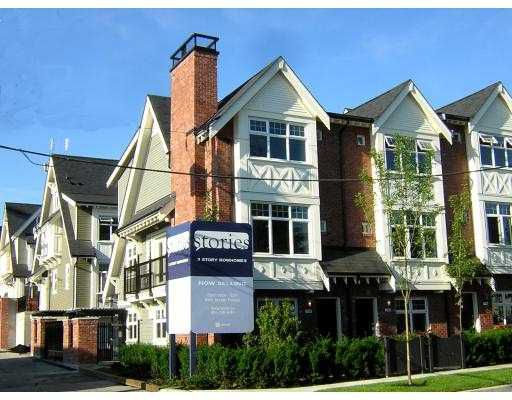 """Main Photo: 3822 WELWYN ST in Vancouver: Victoria VE Townhouse for sale in """"STORIES"""" (Vancouver East)  : MLS®# V598483"""