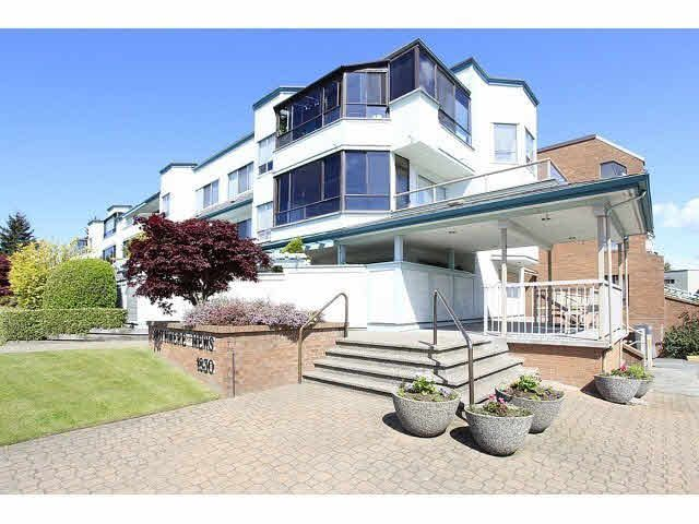 """Main Photo: 303 1830 E SOUTHMERE Crescent in Surrey: Sunnyside Park Surrey Condo for sale in """"Southmere Mews"""" (South Surrey White Rock)  : MLS®# F1440342"""