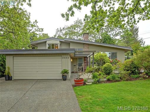 Main Photo: 3552 Kelsey Place in VICTORIA: OB Henderson Single Family Detached for sale (Oak Bay)  : MLS®# 378168