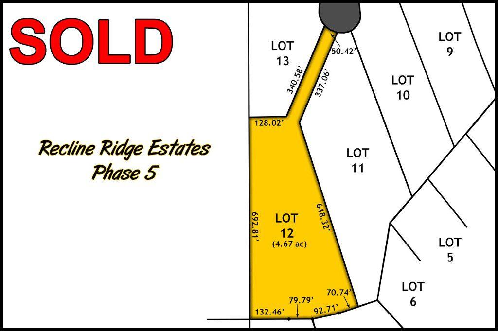 Recline Ridge Estates Phase V - Lot 12