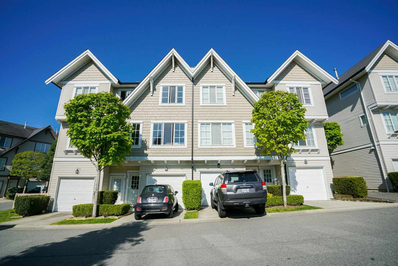 "Main Photo: 84 20540 66 Avenue in Langley: Willoughby Heights Townhouse for sale in ""AMBERLEIGH"" : MLS®# R2265675"