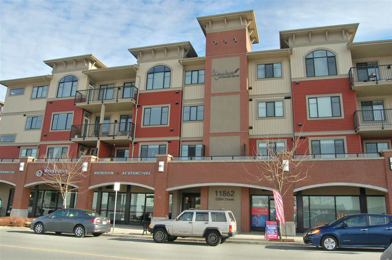 "Main Photo: 201 11862 226 Street in Maple Ridge: East Central Condo for sale in ""SIGNATURE"" : MLS®# R2336144"