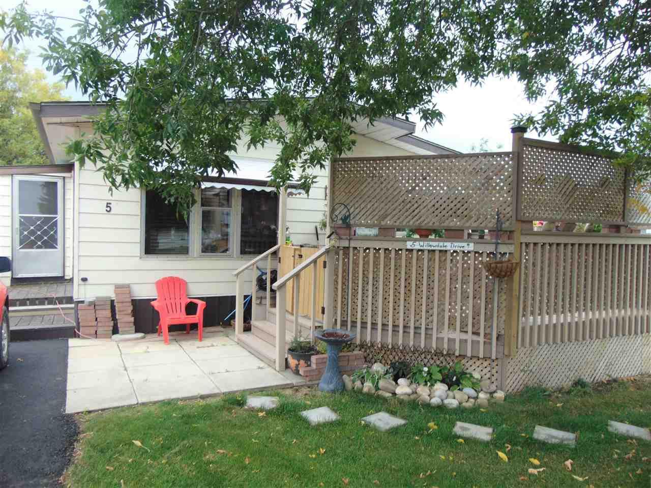 Main Photo: 5 willowdale Drive in Edmonton: Zone 42 Mobile for sale : MLS®# E4145662