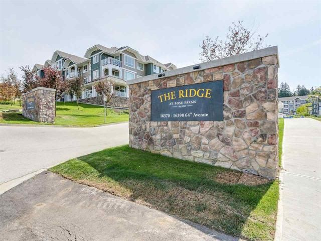 """Main Photo: 308 16388 64 Avenue in Surrey: Cloverdale BC Condo for sale in """"The Ridge at Bose Farms"""" (Cloverdale)  : MLS®# R2369119"""