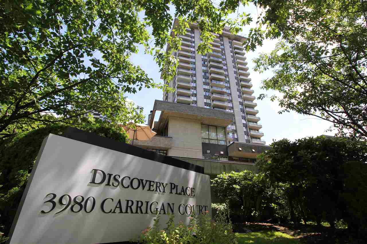 """Main Photo: 202 3980 CARRIGAN Court in Burnaby: Government Road Condo for sale in """"DISCOVERY PLACE"""" (Burnaby North)  : MLS®# R2388649"""