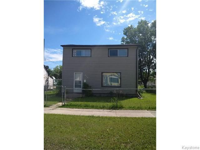 Main Photo: 974 COLLEGE Avenue in WINNIPEG: North End Residential for sale (North West Winnipeg)  : MLS®# 1520217