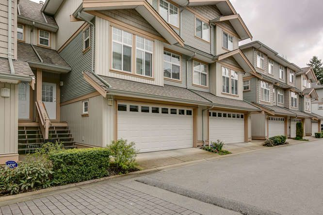 "Main Photo: 48 7518 138 Street in Surrey: East Newton Townhouse for sale in ""Greyhawk"" : MLS®# R2046650"